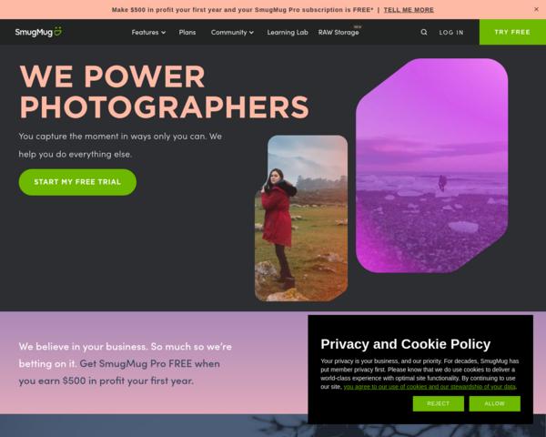 http://www.smugmug.com