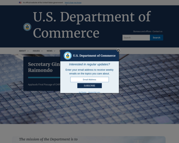 http://www.commerce.gov
