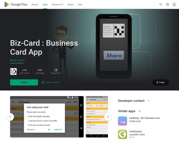 https://play.google.com/store/apps/details?id=com.sasyabook.businesscardapp