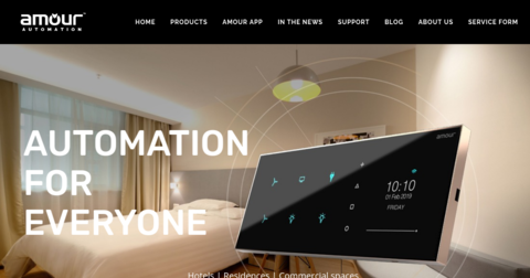 Amour home automation