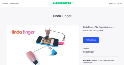 Tinda Finger
