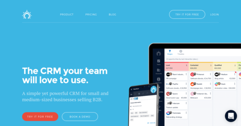 Salesflare CRM