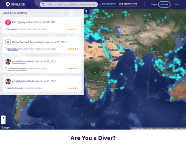 http://dive.site