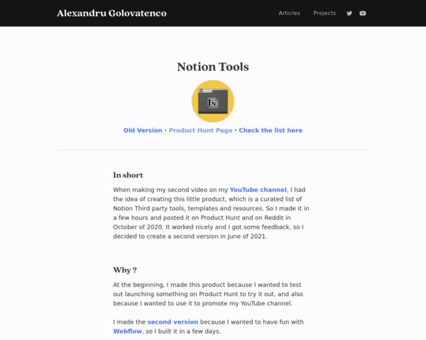 https://www.alexglv.com/projects/notion-tools