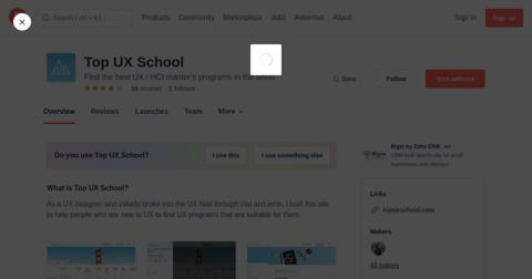 Top UX School