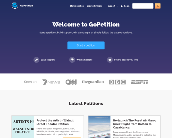 http://www.gopetition.com