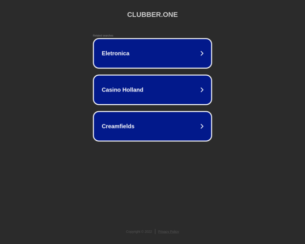 https://clubber.one/
