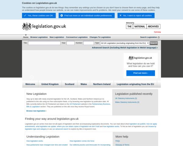 http://www.hmso.gov.uk
