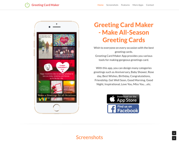 http://greeting-cards-maker.strikingly.com/