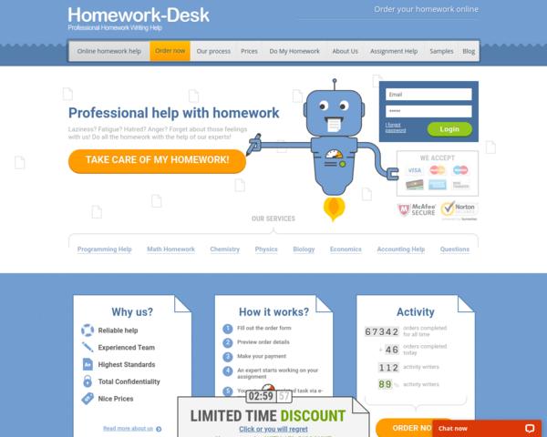 http://www.homework-desk.com/