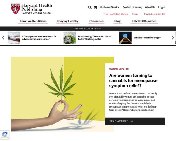 http://www.health.harvard.edu