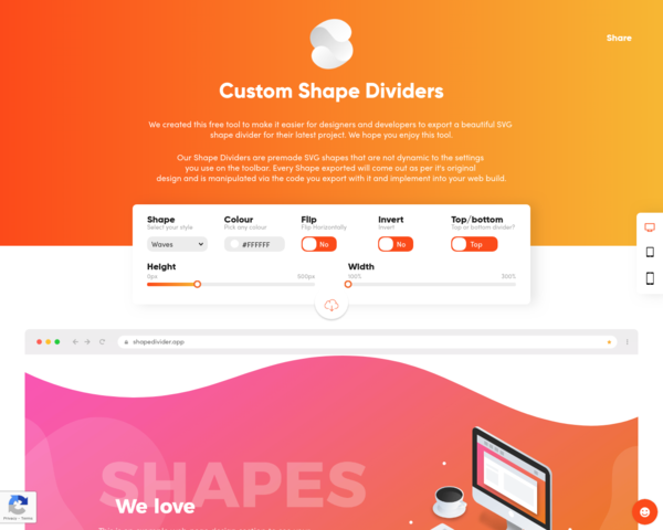https://www.shapedivider.app/