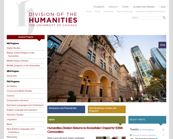 http://humanities.uchicago.edu