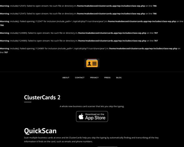 https://clustercards.app/