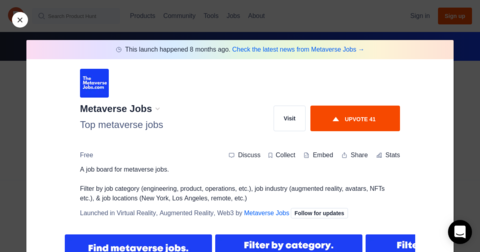 Metaverse Jobs