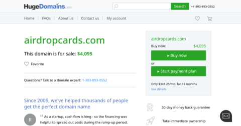 Airdrop Cards