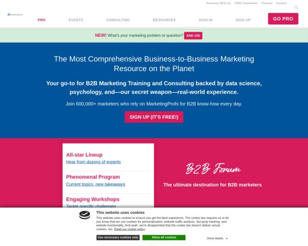 http://www.marketingprofs.com