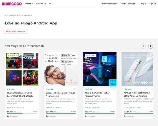 https://www.indiegogo.com/projects/iloveindiegogo-android-app/