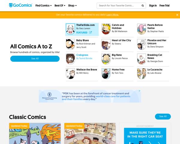 http://www.gocomics.com