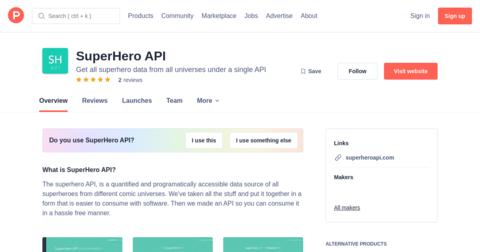 SuperHero API