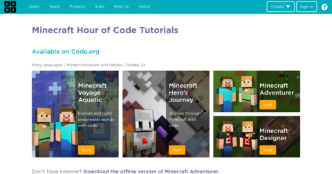 Minecraft Designer - Hour of Code