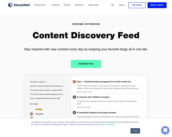 https://storychief.io/content-discovery