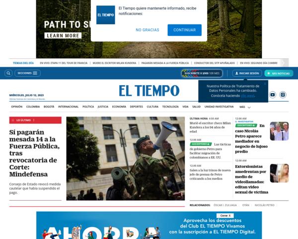 http://www.eltiempo.com