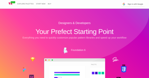 React Bootstrap Material UI Kit: Free UI Kit built with