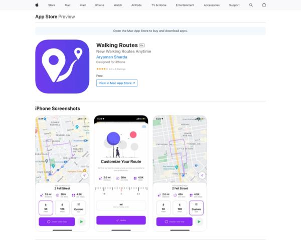 https://apps.apple.com/us/app/walking-routes/id1554790655