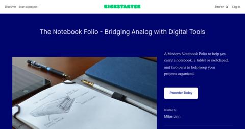The Notebook Folio