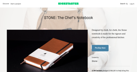 STONE: The Chef's Notebook