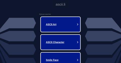 Cowsay ASCII Generator