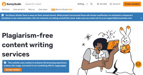 WritingBunny