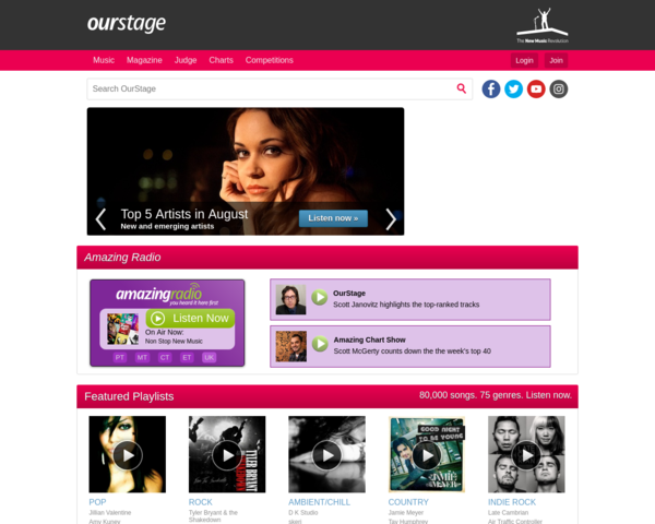 http://www.ourstage.com