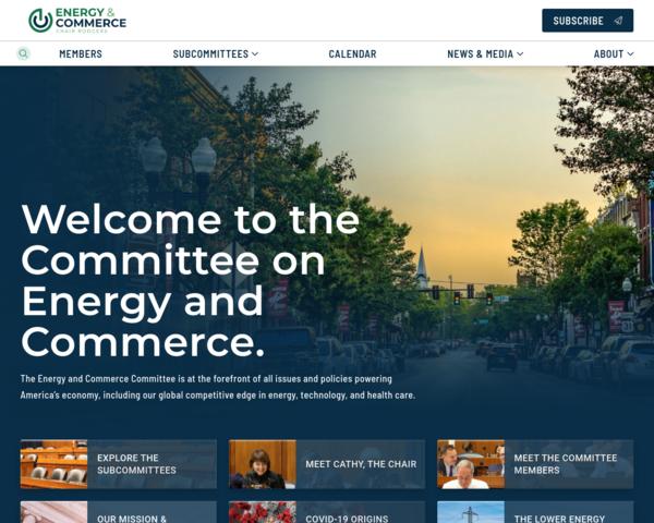 http://energycommerce.house.gov