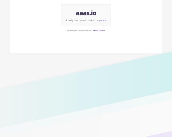 http://aaas.io