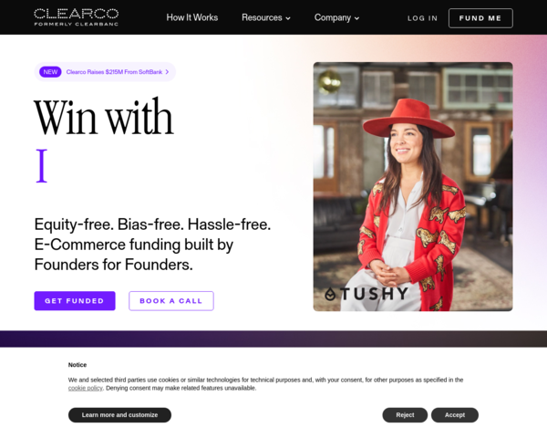 https://angel.clearbanc.com/?utm_source=ph&ref=producthunt