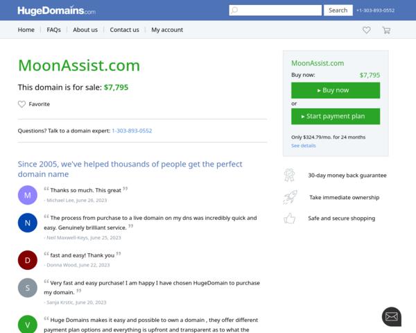 http://www.moonassist.com