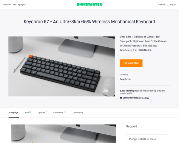 https://www.kickstarter.com/projects/keytron/keychron-k7-an-ultra-slim-65-wireless-mechanical-keyboard