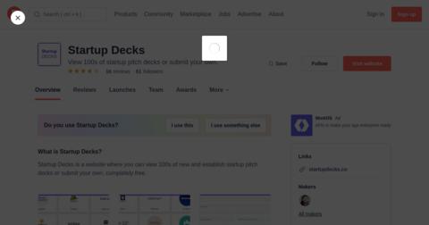 Startup Decks