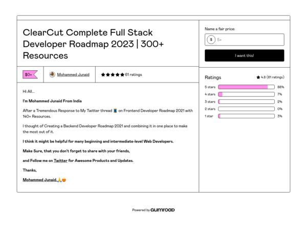 https://mdjunaidap.gumroad.com/l/fullstack-dev-roadmap
