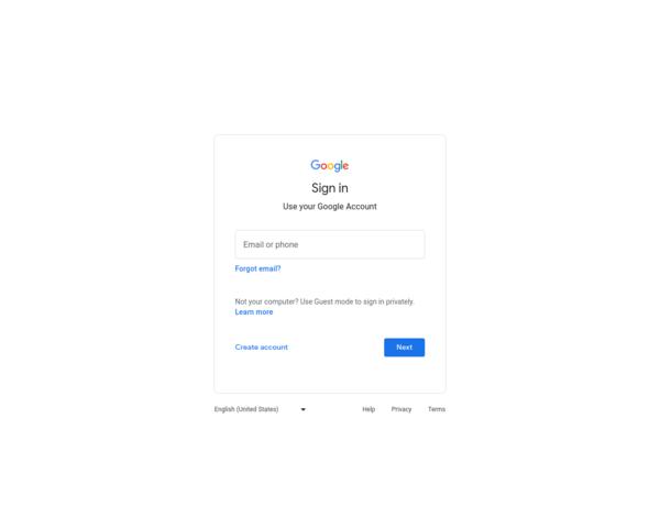 http://accounts.google.com