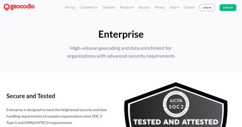 Geocodio+HIPAA