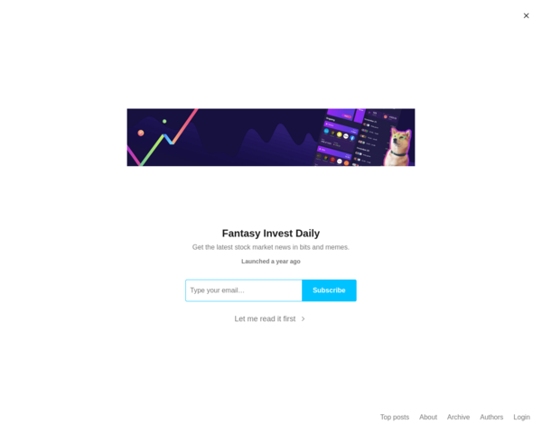 https://fantasyinvestdaily.substack.com/