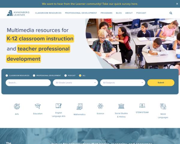 http://www.learner.org