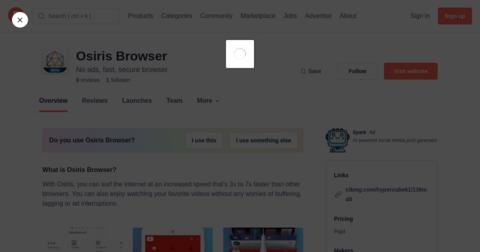 Osiris Browser