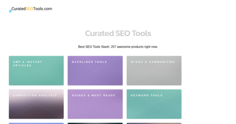 Curated Seo Tools