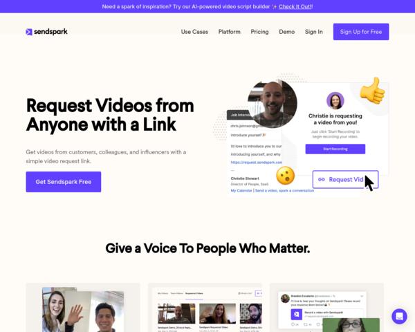 https://www.sendspark.com/video-platform/request-videos