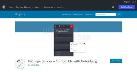 Uix Page Builder