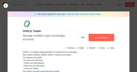 OVALE Trader